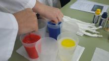 Formación de colores